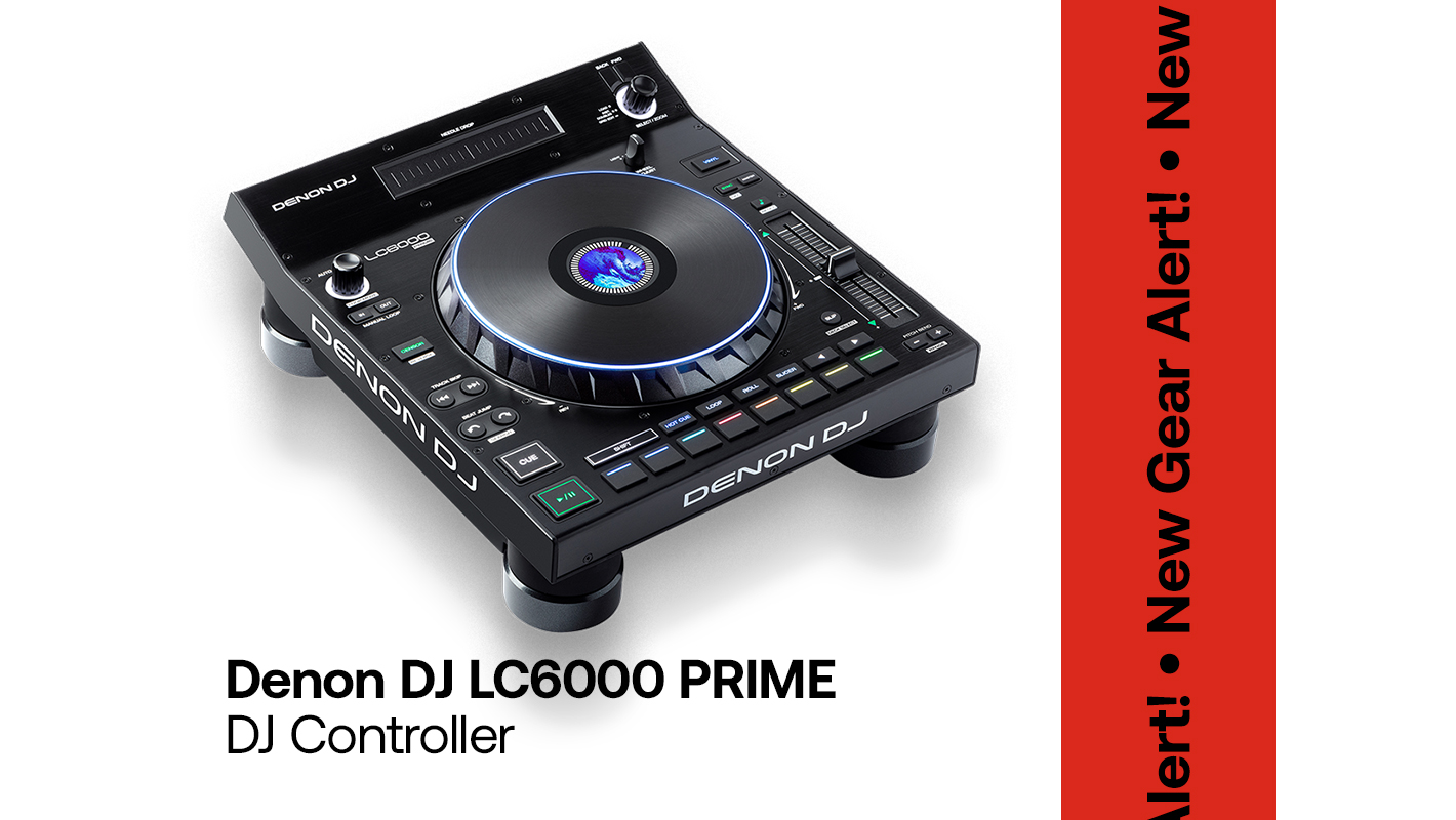 Expand Your Denon DJ Setup With the New LC6000 PRIME Controller