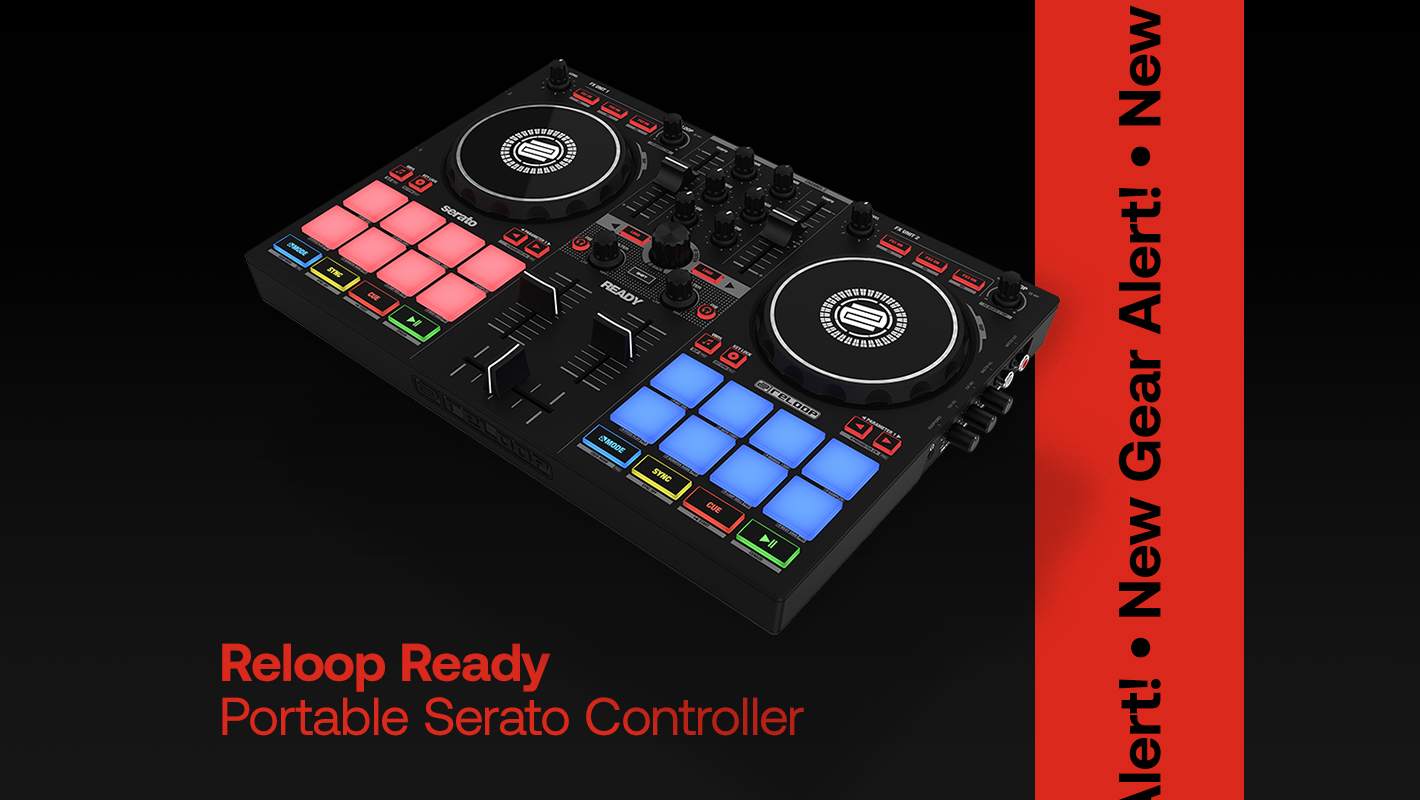 Reloop Introduces the Small but Mighty 'Ready' Portable Controller for Serato