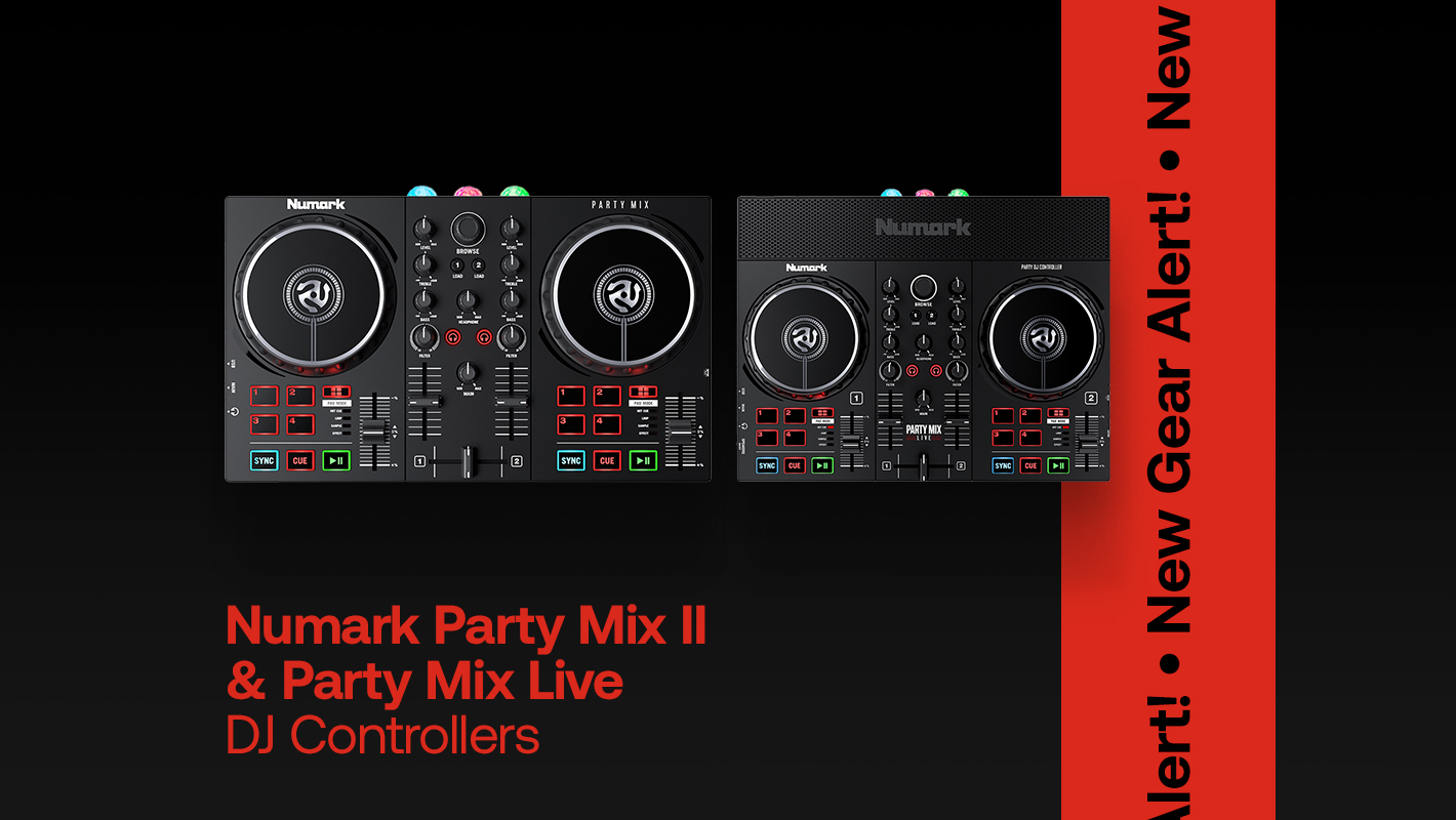 Numark Introduces Two New Party Mix Controllers With Pro-Level Features