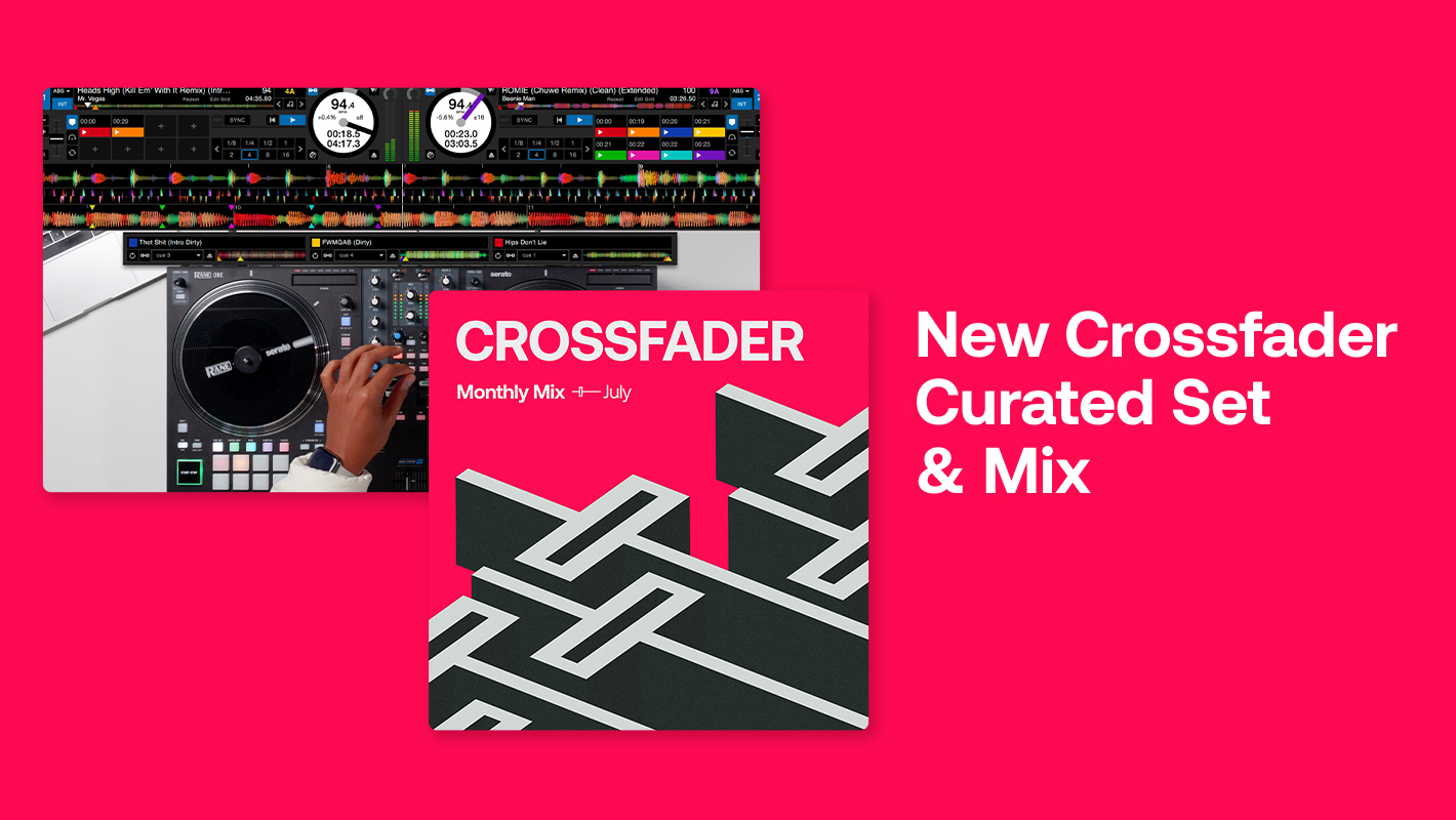 New Crossfader X BPM Supreme Mix & Curated Set Now Available